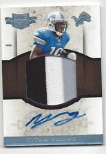TITUS YOUNG 2011 PLATES & PATCHES JUMBO 3 COLOR PATCH AUTO RC #D 21/25
