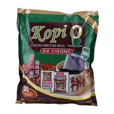Malaysia Aik Cheong Coffee Mixture Bag 2 in 1 Kopi O (10g. x 20 Sachets)