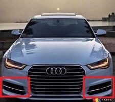 Neuer Original Audi A6 15-18 S-LINE Links Rechts Grill Stoßstange