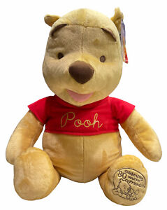 "New w/Tags Winnie the Pooh Stuffed Plush Animal 24"" Celebrating 80 Years 2005"