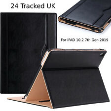 Apple iPad 10.2 8th,7th Generation 2020-19 Genuine Leather Flip Stand Case Cover