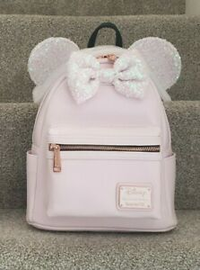 Loungefly Disney Pink Holographic Mini Backpack