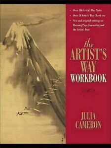 NEW The Artist's Way Workbook By Julia Cameron Spiral Ringed Book Free Shipping