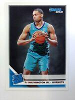 2019-20 Panini Donruss Rated Rookie PJ Washington Jr RC #211, Charlotte Hornets