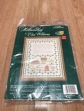 1986 NIP ELSA WILLIAMS Williamsburg Duke of Gloucester St Sampler #29109