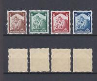 GERMAN REICH 1935 Return of the Saar to Germany Mint ** 448-451 (Mi.565-568)