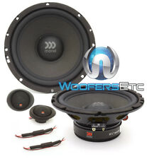 "OPEN BOX MOREL MAXIMUS 602 6.5"" 60W RMS COMPONENT SPEAKERS SOFT DOME TWEETERS"