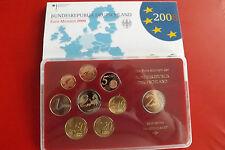 """*Deutschland  Euro KMS PP 2008 """" D """" in Blister  mit 2€ Gedenkmünze"""