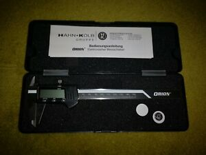 Orion Messschieber digital 150 mm 0,01 mm im Etui