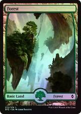 3X FOREST 272/274 FOIL FULL ART / 2X VLP/NM 1X MP/BATTLE FOR ZENDIKAR/WRONGWAY05