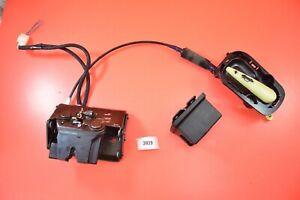 B#35 2002-2010 LEXUS SC430 REAR TRUNK LOCK LATCH ACTUATOR HANDLE STRIKER OEM