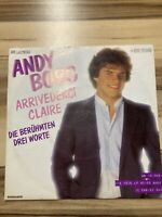 "7"" Single - Andy Borg - Arrivederci Claire - 1982"