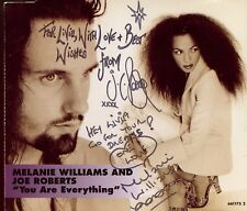 Melanie Williams & Joe Roberts / You Are Everything - Signed - Autographed