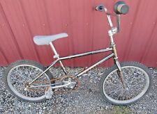 """Vintage 1987 Black Chrome Schwinn Predator Qualifier 20"""" Old School BMX YO!"""