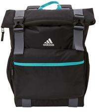 adidas Women's Yola Backpack, Black/Trace Blue/Hi-Res Aqua