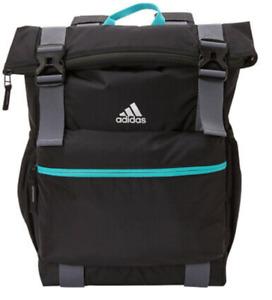 adidas Women's Yola Backpack, Black/Trace Blue/Hi-Res Aqua, Sport/Travel Bag