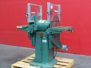Oliver No. 382 Dual Disc Sander Grinder Sanding Grinding Machine 2HP bidadoo