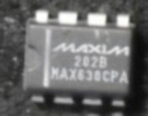 MAX639CPA - MAX630CPA - MAX232EPE - MAX232N
