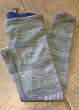 EUC Ivivva (Lululemon For Girls) Size 6 Rhythmic Tight Legging Grey Mint