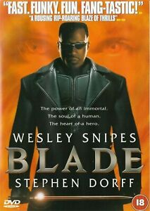 Blade Wesley Snipes, Stephen Dorff  DVD Never Played From A Private Collection