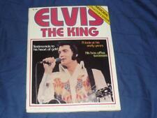 ELVIS THE KING MAGAZINE / 1977 / PRESLEY MEMORIAL COLLECTOR'S EDITION