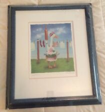 SUPERMOM By Will Bullas Framed Matted Limited Ed Signed, Numbered Duck Print New