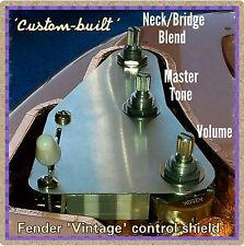 Fender Stratocaster Strat câblage upgrade kit 1-fezz parka Tone mod & Blend pot