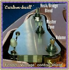Kit de actualización de cableado Fender Stratocaster Strat 1-fezz Parka Tone Mod & Blend Pot