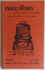 1977 INSULATORS CROWN JEWELS OF THE WIRE -  JUNE               (INV18029)
