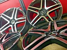 MERCEDES 20 IN S65 RIMS WHEELS SET4 NEW FITS S550 S500 S63 S55 S430  AMG