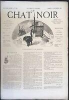 Le Chat Noir, revue, journal   N° 359 du 1 décembre 1888