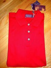 NWT $350 Ralph Lauren Short Sleeve Purple Label Made In Italy Polo Shirt sz S
