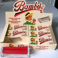 6 Liadores de metacrilato  Marca Bambú (Smoking)  78mms. para papel de liar.