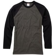 Fruit of the Loom Long Sleeve Baseball T-Shirt