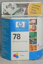 HP 78 Yellow Tri Color Ink Printer Copy Copier Printing Cartridge EXP 8/2006