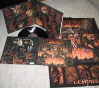 WITCHBURNER- Demons LIM. FOC LP +poster THRASH METAL CULT ala PROTECTOR,KREATOR