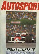 Autosport Aug 22nd 1985 *Austrian Grand Prix & F3000*