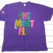 Nike Air Sportswear Swoosh Mens Graphic T-Shirt Sz XXL The Most Purple Fly T5-2