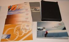 2003 AUDI A4 OWNERS MANUAL GUIDE BOOK SET WITH CASE OEM