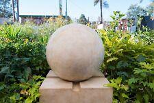 Outdoor Garden Patio Water Feature Urban Sphere Round Ball Fountain Sandstone