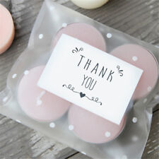 210X/Set Thank you Sticker Cake Candy Bag Labels Paper Seal Adhesive Stickers