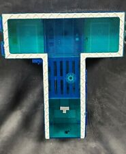 Teen Titans Go! Teen Titans T-Tower Playset Home Base Blue Headquarters
