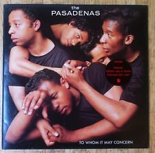 THE PASADENAS To Whom It May Concern LP OIS