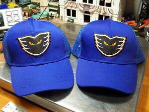 2 - Lehigh Valley Phantoms AHL Hockey Adjustable Mesh Back Trucker Hat * Cap