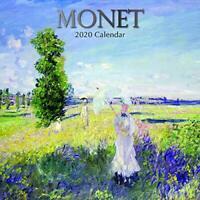 Monet: 2020 Square Wall Calendar