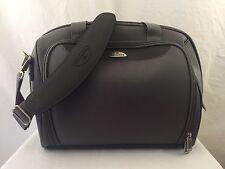 "SAMSONITE Travel Luggage Carry On Crossbody Bag Gray 17""x13"" EUC"