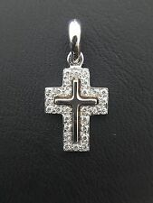 Miran 800569 18k WG Diamond Cross Pendant TDW: 0.14ct 1.1g RRP $650