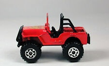 Matchbox Jeep 4 x 4 Red No Package