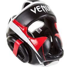 Venum Elite Headgear - Black/Red/White