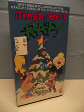 NEW SEALED Jingle Bell Rap VHS 1990 Animated Christmas Kids Dogs Holiday